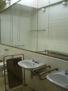 Ванная комната на вилле Тугендхат