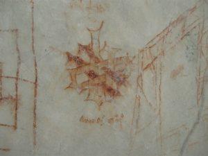 Замок Пернштейн. Надписи 16 в.
