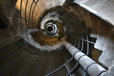 Лестница в церкви св. Якуба