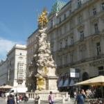 Вена. Чумная колонна на ул. Грабен